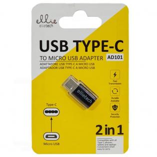 Adattatore Type C  - Micro USB