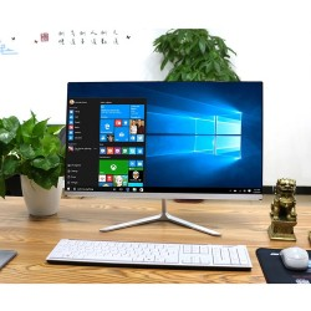 All in One Pc Desktop 8GB Ram 24 Pollici 1080P i7 8700 512GB SSD