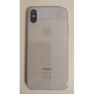 Scocca Completa con componenti per iPhone X Tasti Volume e Accensione e Ricarica Wireless Silver Argento